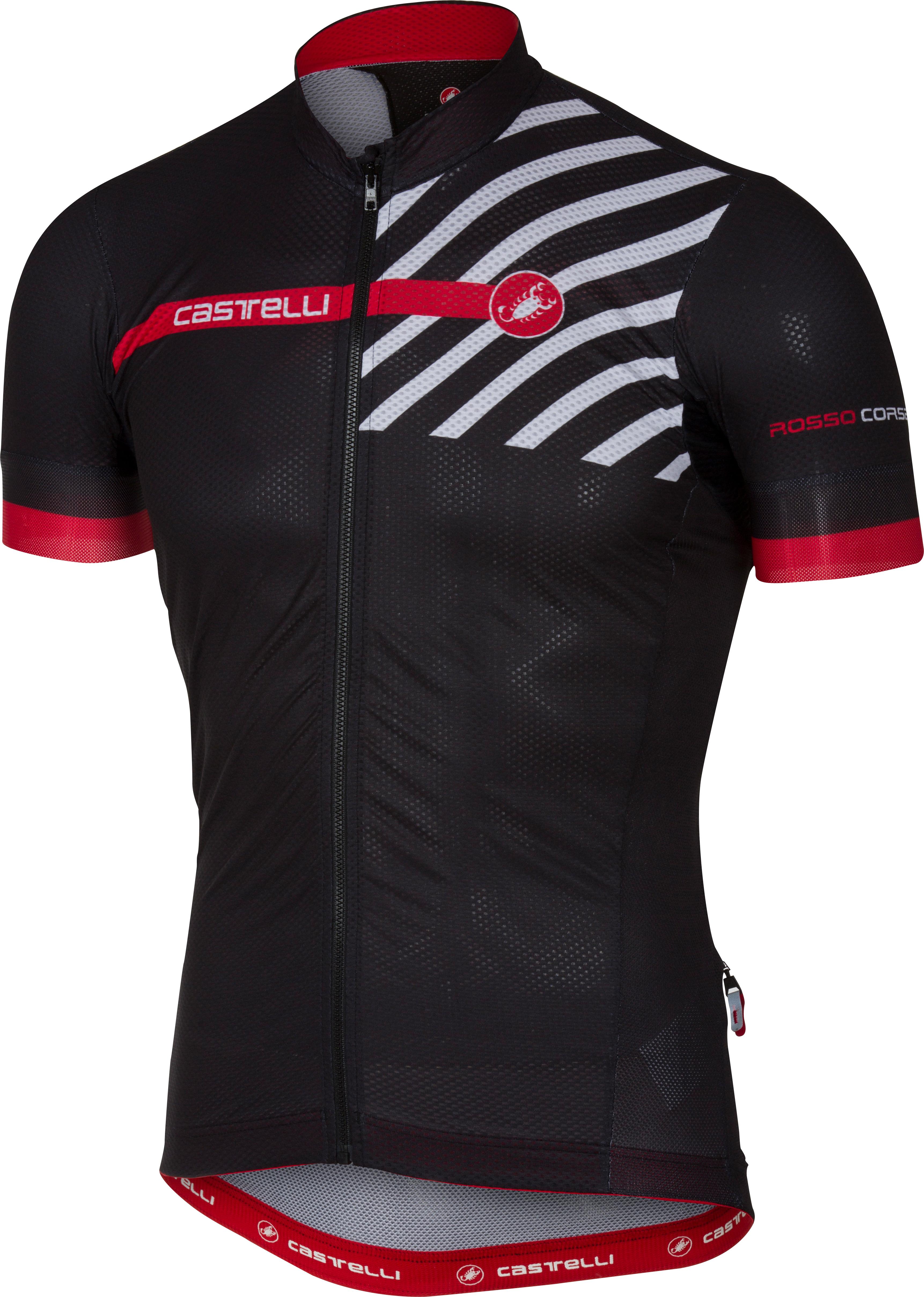 Castelli Free AR 4.1 Mens Short Sleeve Jersey   Black - 700 219413313