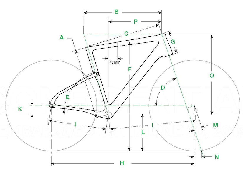 Cannondale Topstone Carbon Geometry
