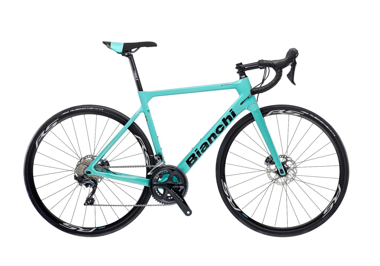 Bianchi Sprint Ultegra DISC Carbon Road Bike : CK16 Gloss Celeste