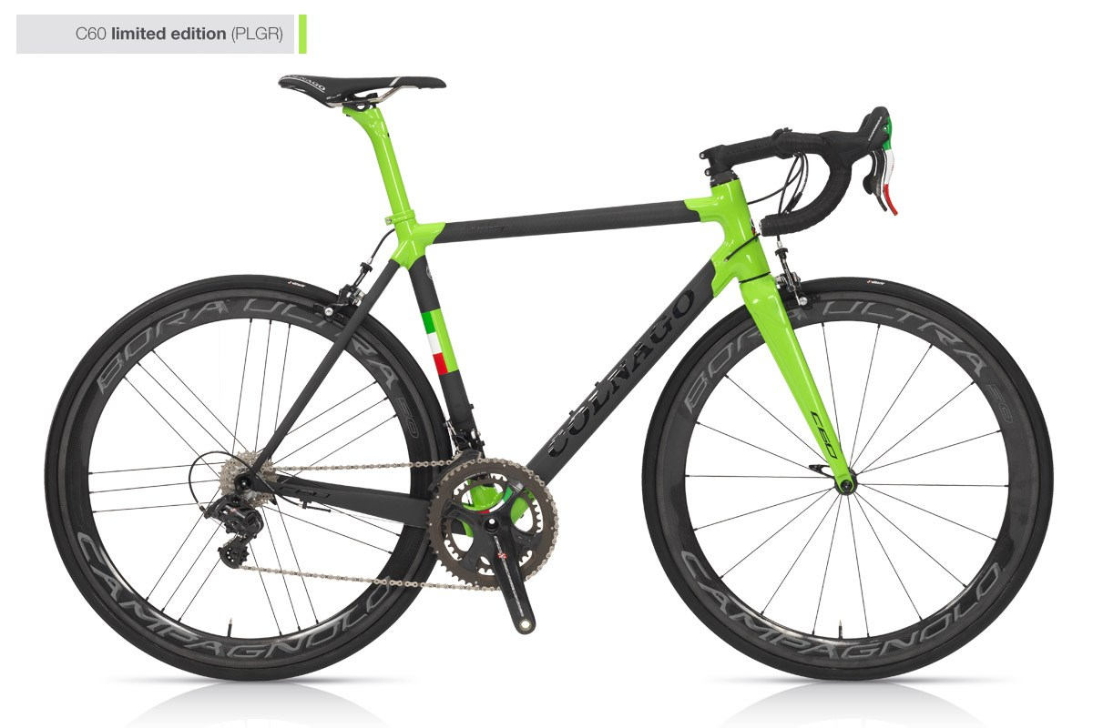 Colnago C60 Italia Limited Edition Carbon Road FRAME PLGR Green - 700