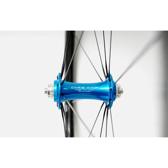 Enve Ses 4 5 Clincher Wheels Turquoise Chris King Hubs 700