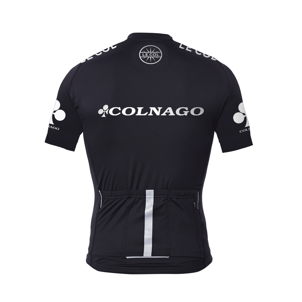 e650ab212 Colnago x Le Col Womens Short Sleeve Cycling Jersey Black   White - 700