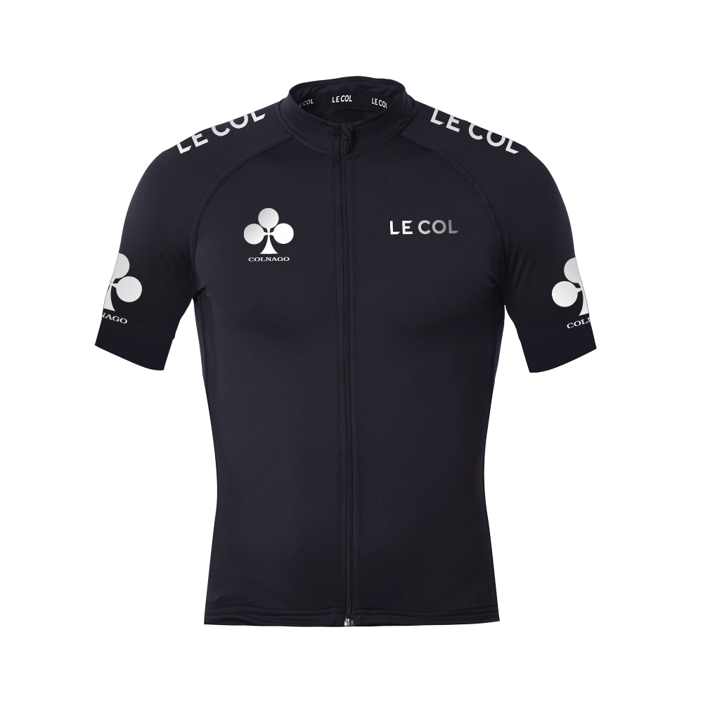 ac28890e5 Colnago x Le Col Womens Short Sleeve Cycling Jersey Black   White - 700