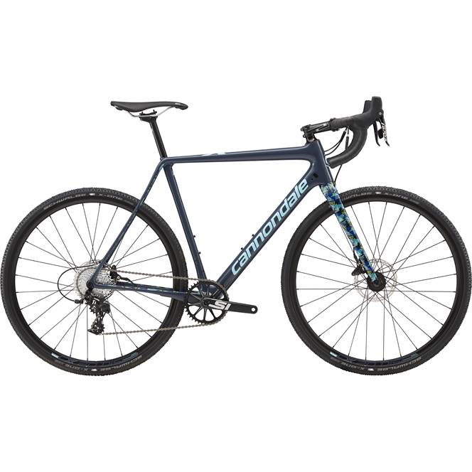 2018 Cannondale SuperX : Apex 1 : Carbon Cyclocross Bike : Blue WOW