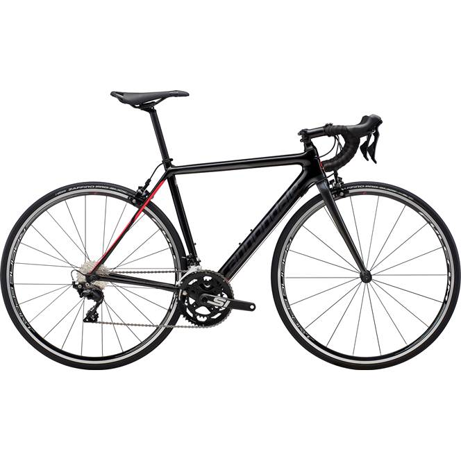2019 Cannondale SuperSix Evo 105 Womens Carbon Road bike in Black