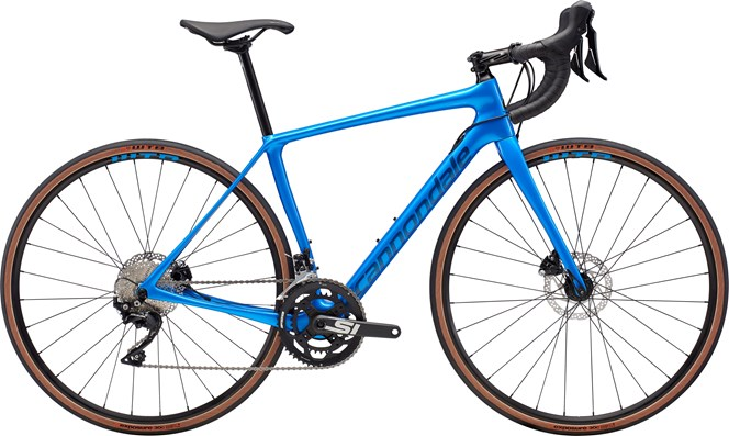 2019 Cannondale Synapse Disc SE 105 Womens Carbon Road bike in Blue