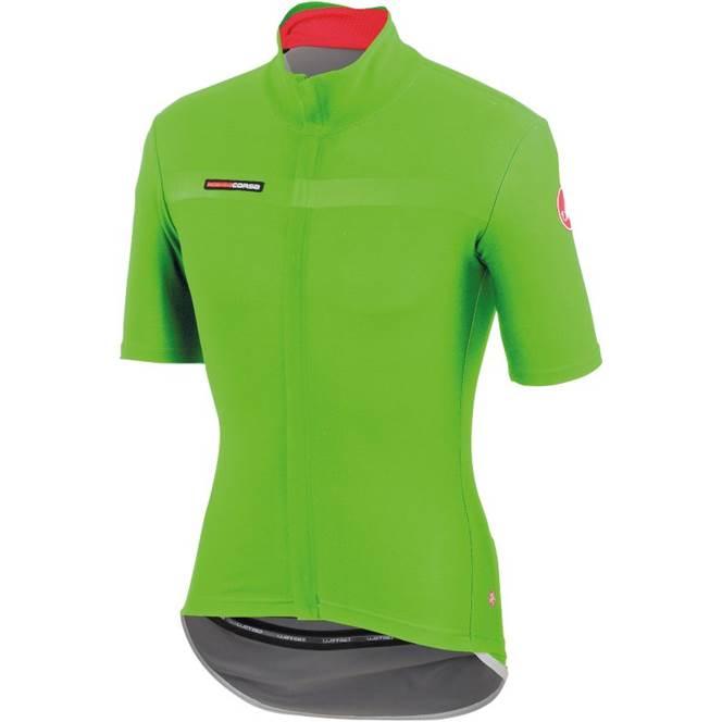 Castelli Gabba 2 Mens Short Sleeve Jersey   Sprint Green - 700 a44c8eedf