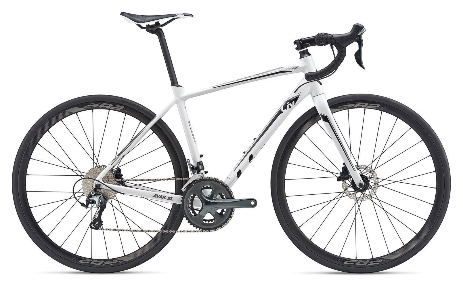 2019 Liv Avail SL 2 Disc Womens Road bike in White