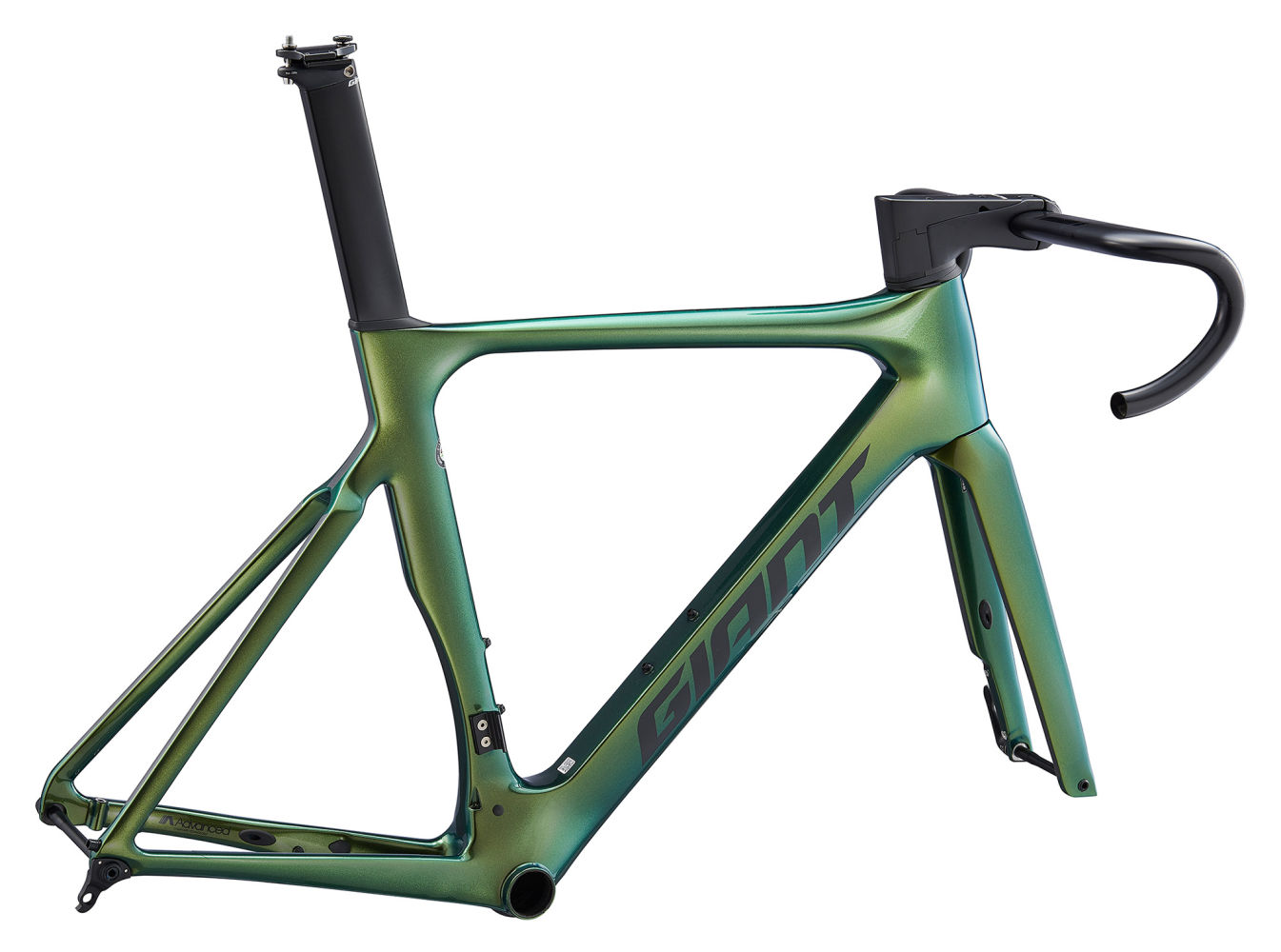 Best Road Bikes 2020.2020 Giant Propel Advanced Pro Disc Carbon Road Bike Frameset In Green