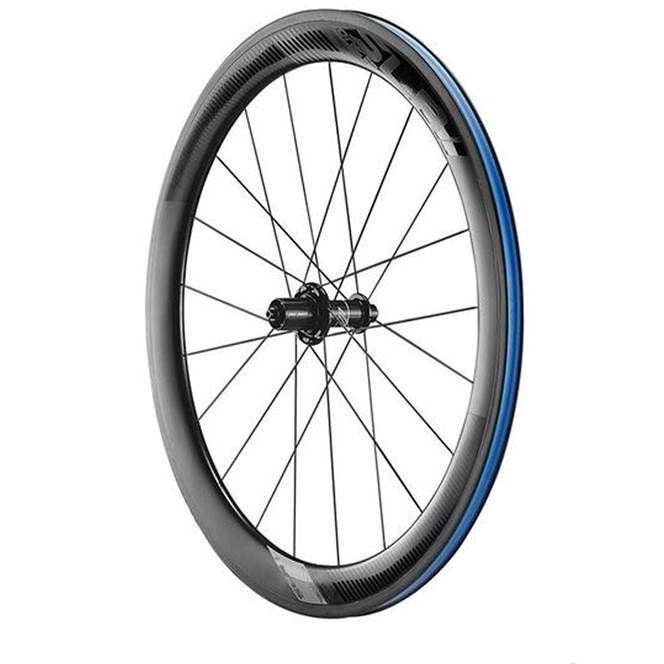 74e50606fb0 Giant SLR 1 AERO 55mm Rear Wheel : Tubeless Ready Carbon Cli - 700