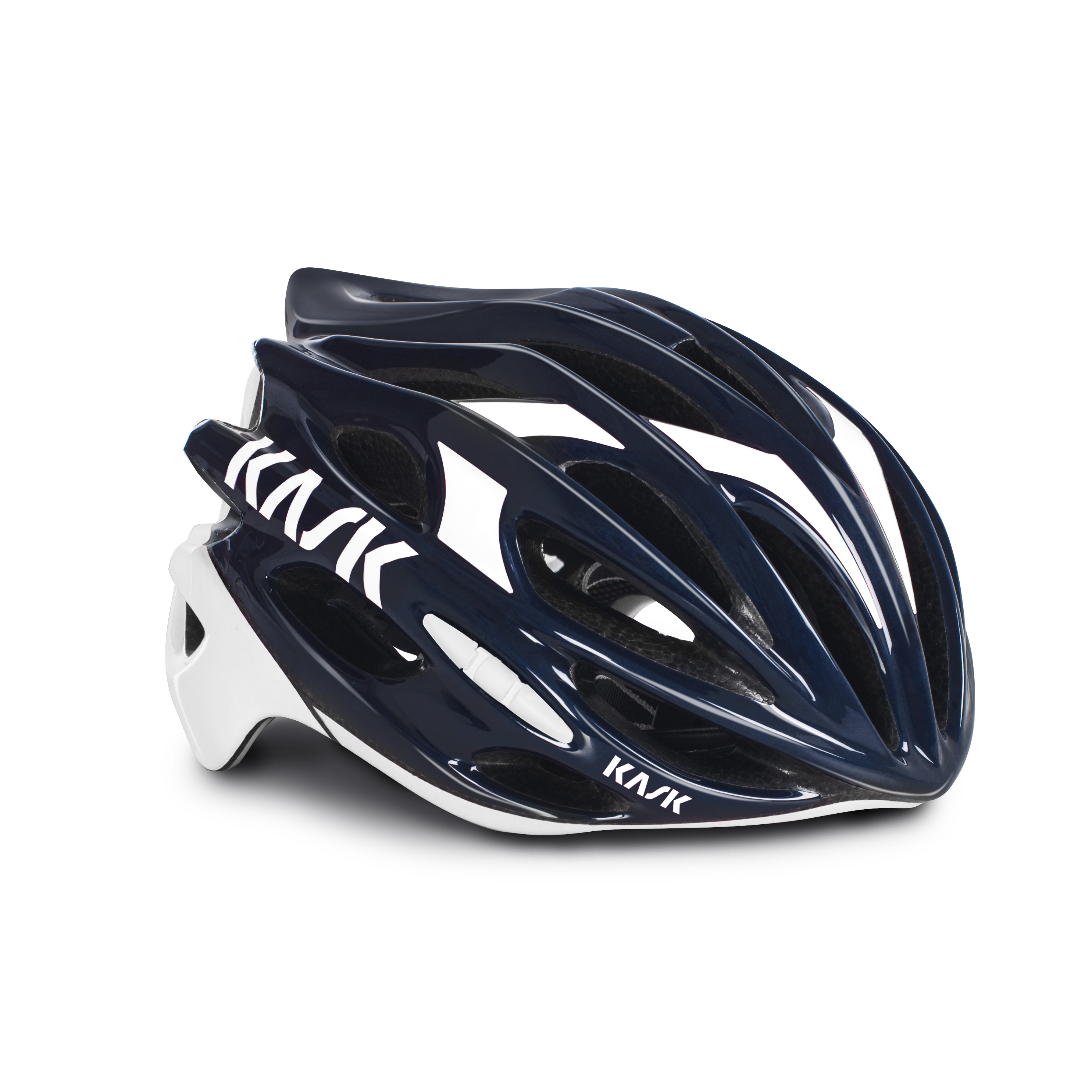 bd4fc8253 Kask Mojito Road Cycling Helmet in Dark Blue and White - 700