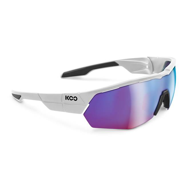Koo OPEN CUBE Sunglasses : White with Infrared Lens for Road