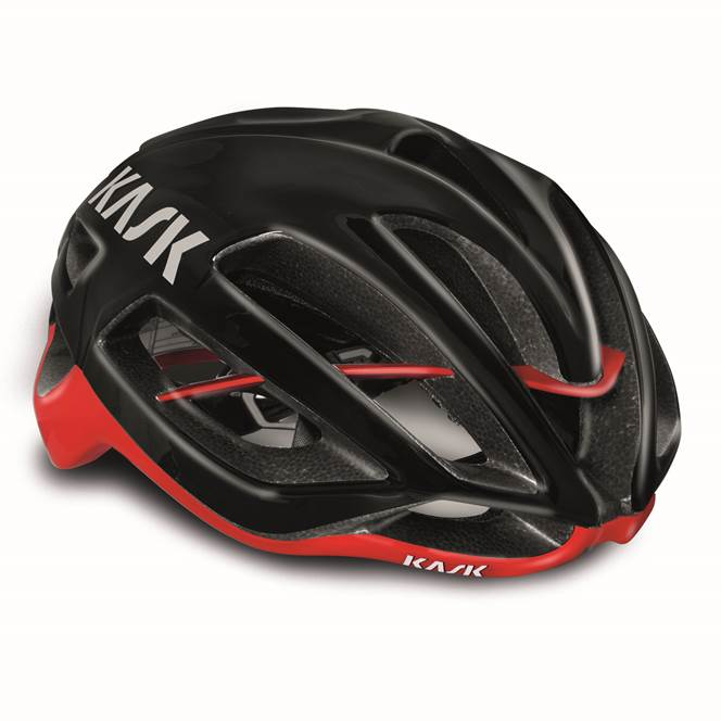 Kask Protone : Black / Red