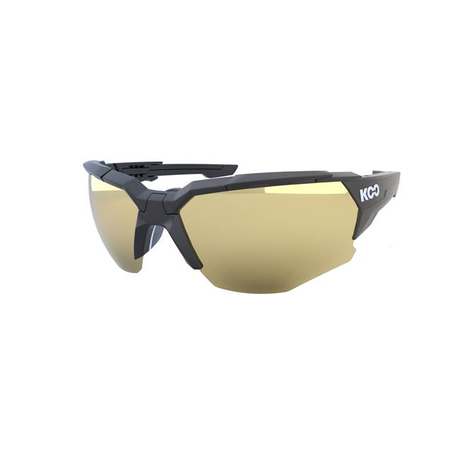 Koo ORION Cycling Sunglasses : Matte Black - Milky Gold