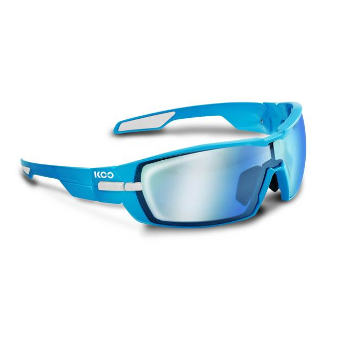 Koo OPEN Sunglasses : Blue - Super Blue : SMALL