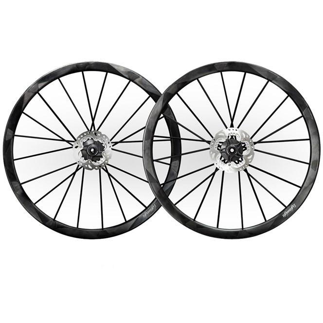 Lightweight Wegweiser Disc Brake Carbon Clincher Wheels