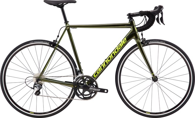 2019 Cannondale CAAD12 Tiagra Mens Road bike in Green