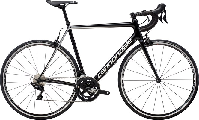 2019 Cannondale SuperSix Evo 105 Mens Carbon Road bike in Black