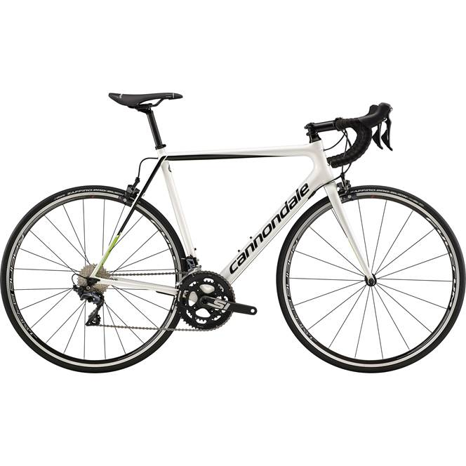 2019 Cannondale SuperSix Evo Ultegra Mens Carbon Road bike in White