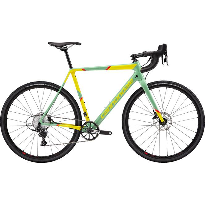 2019 Cannondale Super X Apex 1 Mens Cyclocross bike in Green