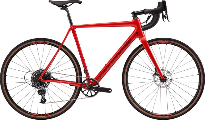 2019 Cannondale Super X SE Force 1 Mens Carbon Cyclocross bike in Red