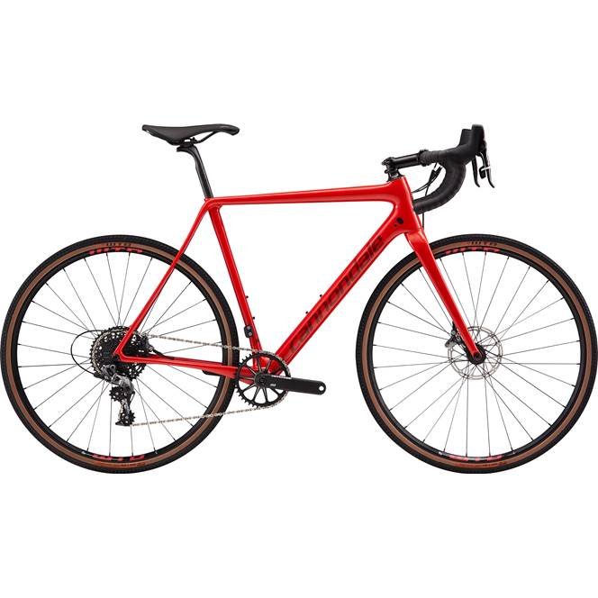 2019 Cannondale SuperX SE Force 1 Carbon Mens Cyclocross bike in Red