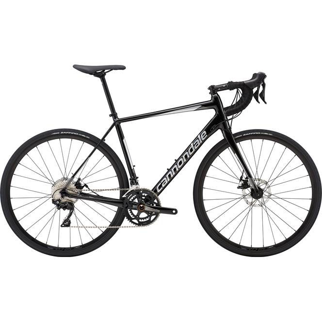 2019 Cannondale Synapse Disc 105 Mens Road bike in Black