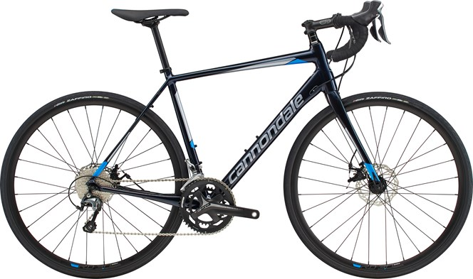 2019 Cannondale Synapse Disc Tiagra Mens Road bike in Blue