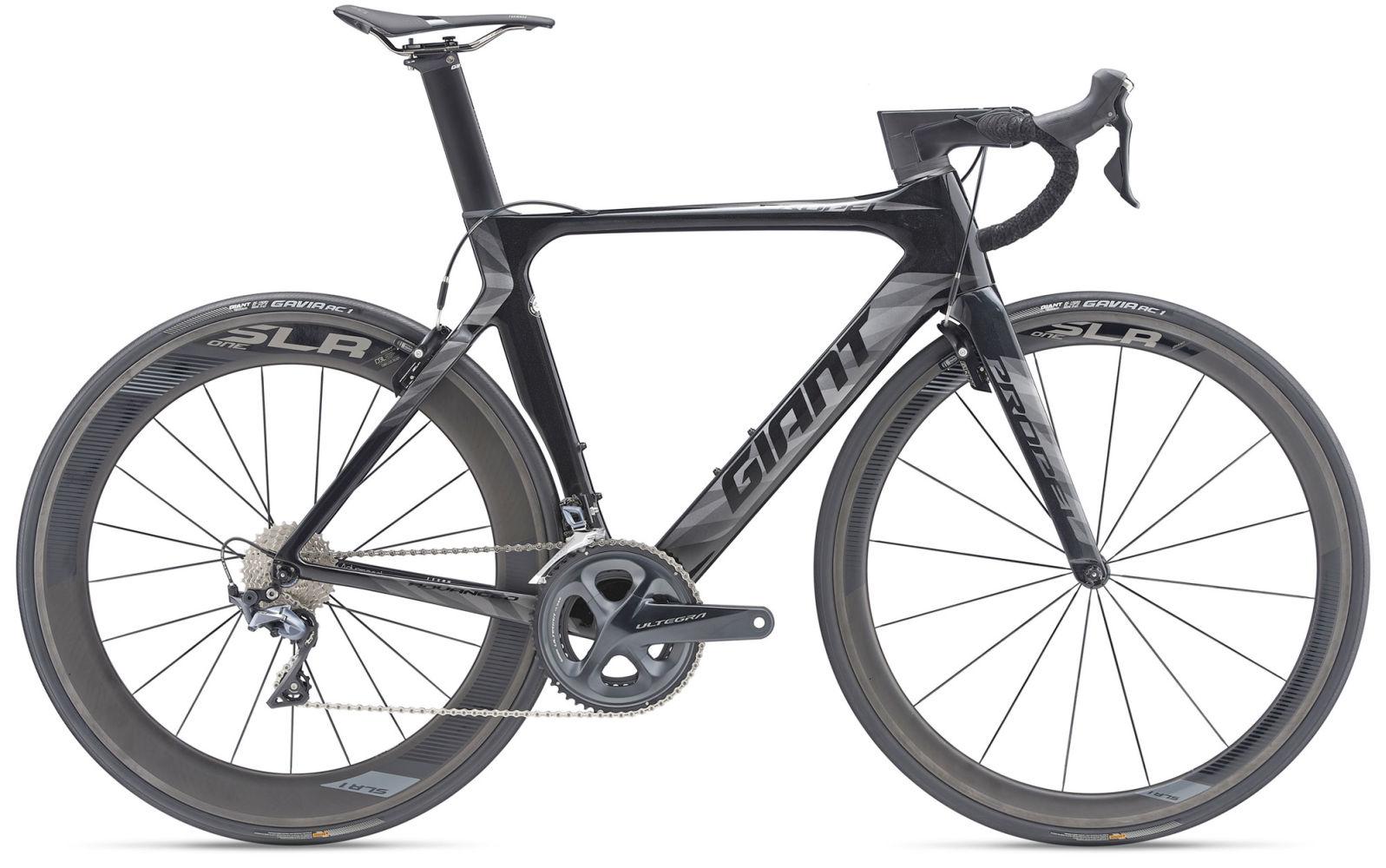 2019 Giant Propel Advanced Pro 1 Road Bike in Black
