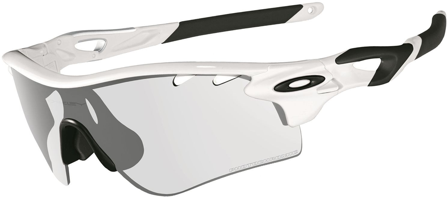 oakley radar path clear black iridium photochromic