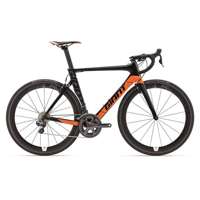 2017 Giant Propel Advanced PRO 0 : Black/Orange