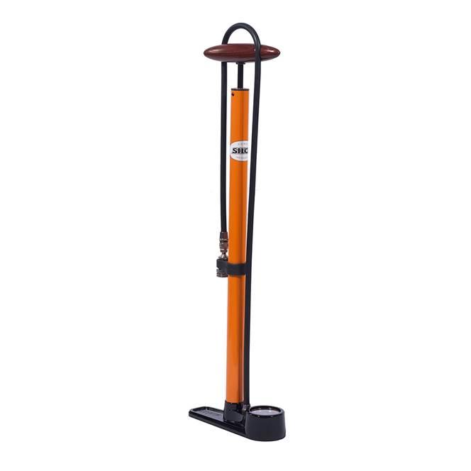 Silca Pista Floor Pump : Orange - 700