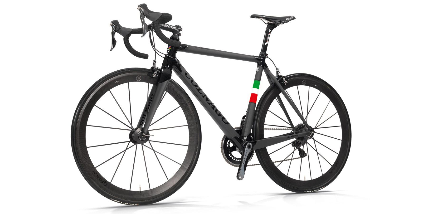 Colnago C60 Italia Dual Routed Frameset : Carbon/Gloss