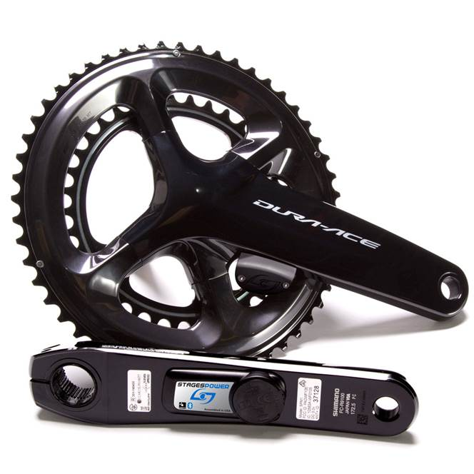 Stages Cycling Dura Ace LR R9100 Dual Sided Power Meter 50/34: Compact