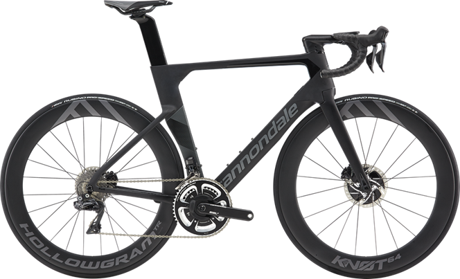 2019 Cannondale SystemSix Hi-Mod Dura-Ace Di2 Mens Road bike : Black