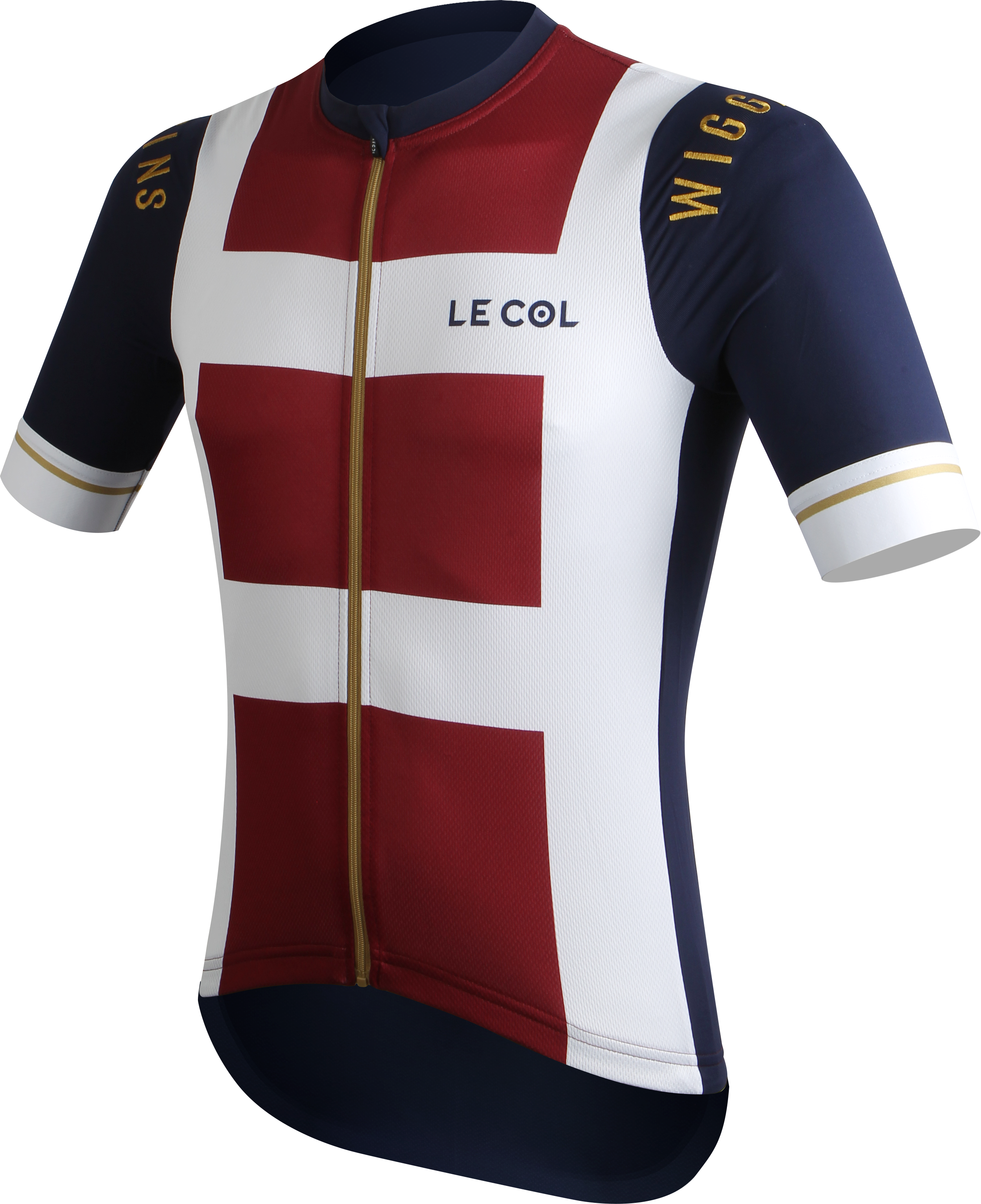 Le Col by Wiggins   PRO Mens Cycling Jersey   White   Red - 700 8767d6dcc